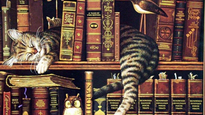 Самые известные коты в истории