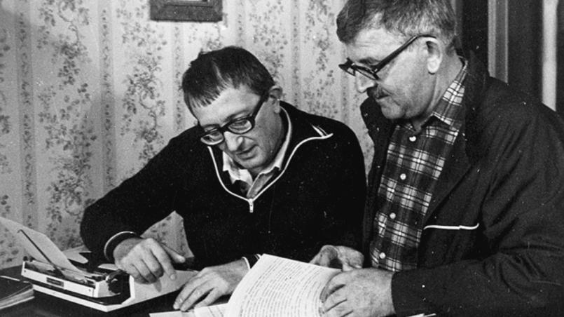 Братья-писатели Стругацкие